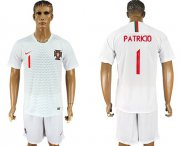 Wholesale Cheap Portugal #1 Patricio Away Soccer Country Jersey