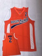 Wholesale Cheap Harlem Buckets 2 Irving Orange Uncle Drew Movie Basketball Jersey