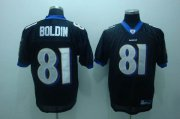 Wholesale Cheap Ravens #81 Anquan Boldin Black Stitched NFL Jersey