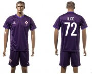 Wholesale Cheap Florence #72 Ilicic Home Soccer Club Jersey