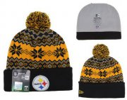 Wholesale Cheap Pittsburgh Steelers Beanies YD006