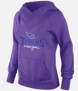 Wholesale Cheap Women's Tennessee Titans Big & Tall Critical Victory Pullover Hoodie Purple