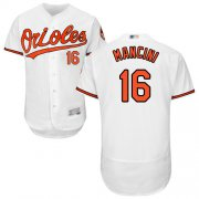 Wholesale Cheap Orioles #16 Trey Mancini White Flexbase Authentic Collection Stitched MLB Jersey
