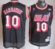 Wholesale Cheap Miami Heat #10 Tim Hardaway Black Swingman Throwback Jersey