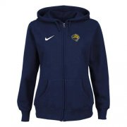 Wholesale Cheap Nike Jacksonville Jaguars Ladies Tailgater Full Zip Hoodie Blue