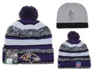 Wholesale Cheap Baltimore Ravens Beanies YD004