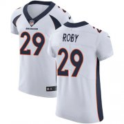Wholesale Cheap Nike Broncos #29 Bradley Roby White Men's Stitched NFL Vapor Untouchable Elite Jersey