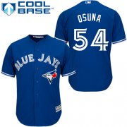 Wholesale Cheap Blue Jays #54 Roberto Osuna Blue Cool Base Stitched Youth MLB Jersey