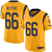 Wholesale Cheap Nike Rams #66 Austin Blythe Gold Men's Stitched NFL Limited Rush Jersey