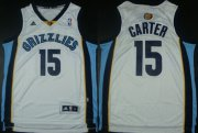 Wholesale Cheap Memphis Grizzlies #15 Vince Carter Revolution 30 Swingman White Jersey