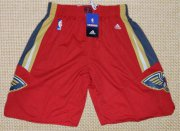 Wholesale Cheap Men's New Orleans Pelicans Red Basketball Shorts