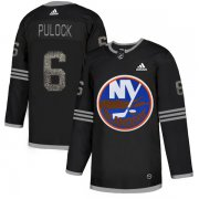 Wholesale Cheap Adidas Islanders #6 Ryan Pulock Black Authentic Classic Stitched NHL Jersey