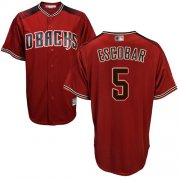 Wholesale Cheap Diamondbacks #5 Eduardo Escobar Sedona Red Alternate Stitched Youth MLB Jersey