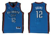 Wholesale Cheap Oklahoma City Thunder #12 Steven Adams Revolution 30 Swingman Blue Jersey