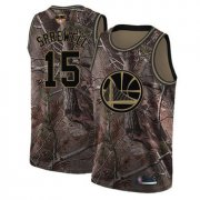 Wholesale Cheap Warriors #15 Latrell Sprewell Camo 2019 Finals Bound Basketball Swingman Realtree Collection Jersey
