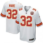 Wholesale Cheap Nike Chiefs #32 Spencer Ware White Youth Stitched NFL Elite Jersey