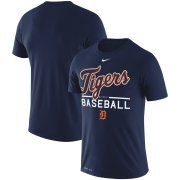 Wholesale Cheap Detroit Tigers Nike Practice Performance T-Shirt Navy