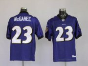 Wholesale Cheap Ravens #23 Willis McGahee Purple Stitched NFL Jersey