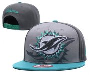 Wholesale Cheap NFL Miami Dolphins Stitched Snapback Hats 070
