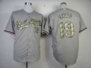 Wholesale Orioles #19 Chris Davis Grey USMC Cool Base Stitched Baseball Jersey