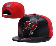 Wholesale Cheap NFL Tampa Bay Buccaneers Team Logo Red Silver Adjustable Hat YD