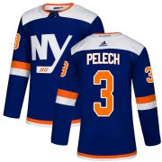 Wholesale Cheap Adidas Islanders #3 Adam Pelech Blue Authentic Alternate Stitched NHL Jersey