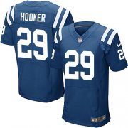 Wholesale Cheap Nike Colts #29 Malik Hooker Royal Blue Team Color Men's Stitched NFL Elite Jersey