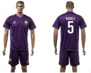 Wholesale Cheap Florence #5 Badelj Home Soccer Club Jersey