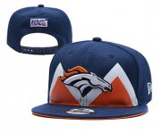 Wholesale Cheap Broncos Team Logo Navy 2019 Draft Adjustable Hat YD