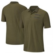 Wholesale Cheap Green Bay Packers Nike Salute to Service Sideline Polo Olive