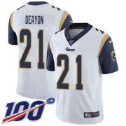 Wholesale Cheap Nike Rams #21 Donte Deayon White Youth Stitched NFL 100th Season Vapor Untouchable Limited Jersey