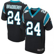 Wholesale Cheap Nike Panthers #24 James Bradberry Black Team Color Men's Stitched NFL Elite Jersey