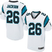 Wholesale Cheap Nike Panthers #26 Donte Jackson White Men's Stitched NFL Elite Jersey