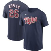 Wholesale Cheap Minnesota Twins #26 Max Kepler Nike Name & Number T-Shirt Navy