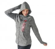 Wholesale Cheap Women's NFL Tampa Bay Buccaneers G-III 4Her by Carl Banks Recovery Full-Zip Hoodie Heathered Gray