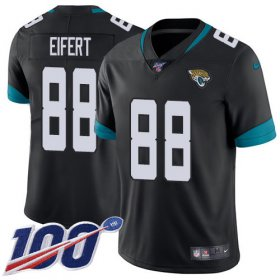 Wholesale Cheap Nike Jaguars #88 Tyler Eifert Black Team Color Youth Stitched NFL 100th Season Vapor Untouchable Limited Jersey