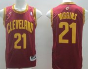 Wholesale Cheap Cleveland Cavaliers #21 Andrew Wiggins Red Swingman Jersey