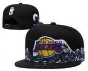 Wholesale Cheap Men's Los Angeles Lakers Snapback Ajustable Cap Hat
