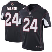 Wholesale Cheap Nike Cardinals #24 Adrian Wilson Black Alternate Men's Stitched NFL Vapor Untouchable Limited Jersey