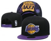 Wholesale Cheap Los Angeles Lakers Snapback Ajustable Cap Hat YD 7