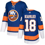 Wholesale Cheap Adidas Islanders #18 Anthony Beauvillier Royal Blue Home Authentic Stitched Youth NHL Jersey