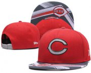 Wholesale Cheap Cincinnati Reds Snapback Ajustable Cap Hat GS 4