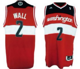 Wholesale Cheap Washington Wizards #2 John Wall Revolution 30 Swingman Red Jersey