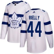 Wholesale Cheap Adidas Maple Leafs #44 Morgan Rielly White Authentic 2018 Stadium Series Stitched Youth NHL Jersey