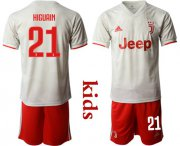 Wholesale Cheap Juventus #21 Higuain Away Kid Soccer Club Jersey