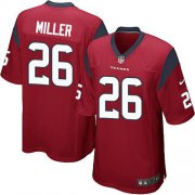 Wholesale Cheap Nike Texans #26 Lamar Miller Red Alternate Youth Stitched NFL Elite Jersey