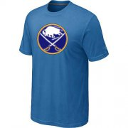 Wholesale Cheap Buffalo Sabres Big & Tall Logo Indigo Blue NHL T-Shirt
