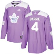 Wholesale Adidas Maple Leafs #25 James Van Riemsdyk Purple Authentic Fights Cancer Stitched NHL Jersey