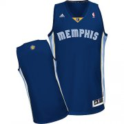 Wholesale Cheap Memphis Grizzlies Blank Navy Blue Swingman Jersey