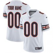 Wholesale Cheap Nike Chicago Bears Customized White Stitched Vapor Untouchable Limited Youth NFL Jersey